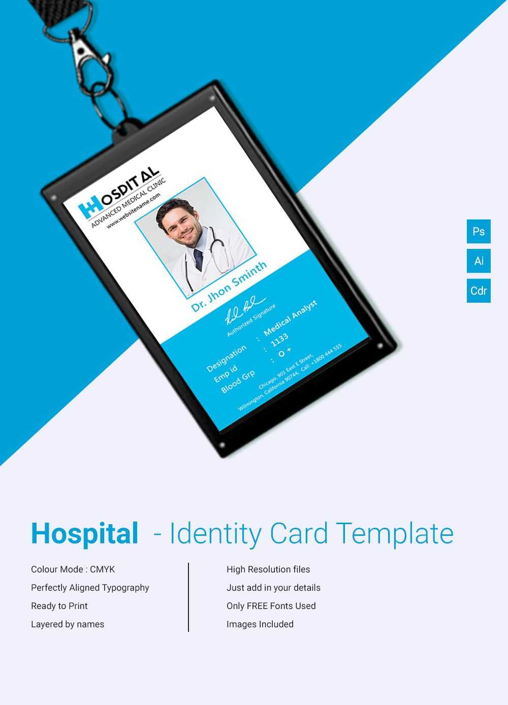 003 Id Card Template Free Fascinating Ideas Company Word Regarding Free Id Card Template Word