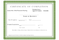 005 Certificate Of Completion Template Fantastic Ideas with Construction Certificate Of Completion Template