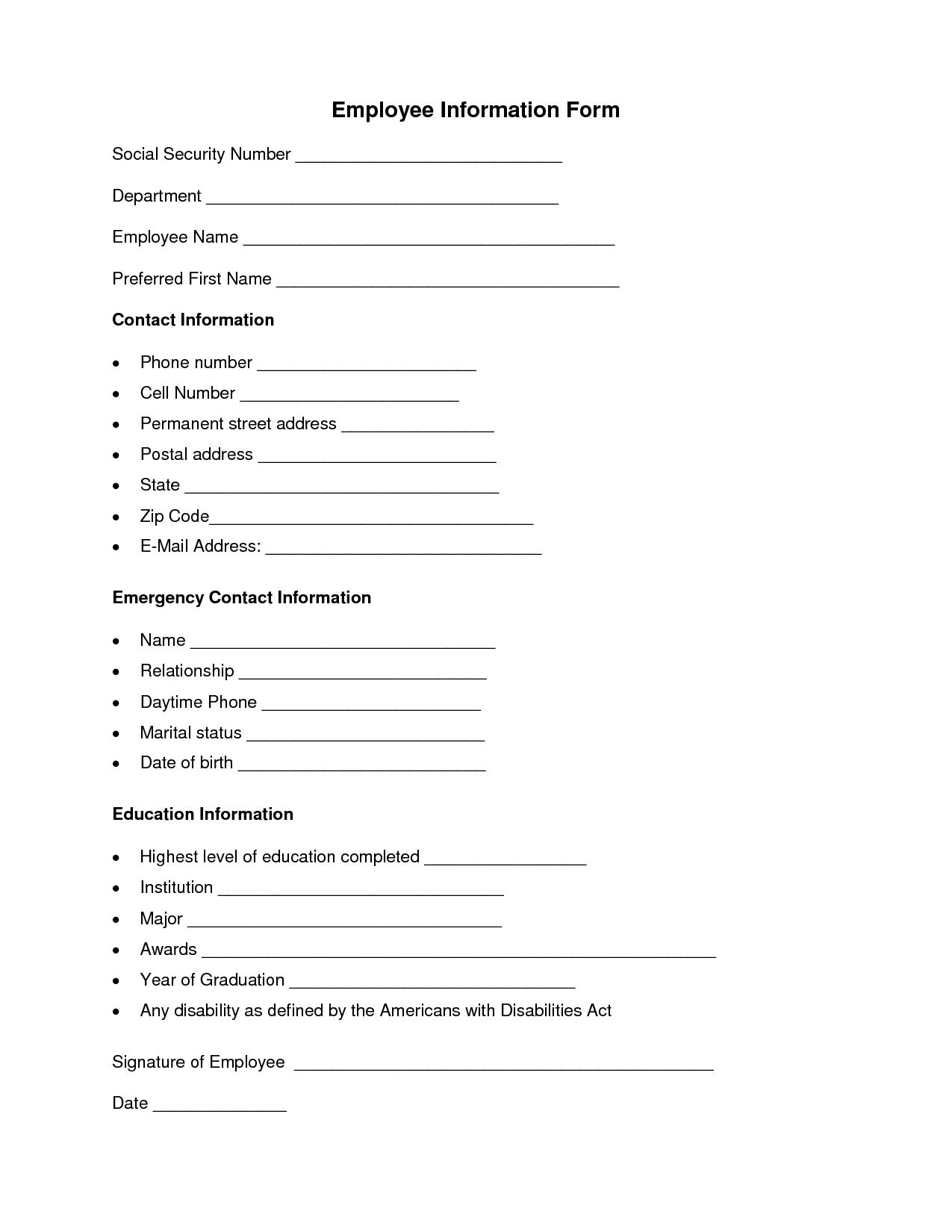 011 Employment Application Template Word Ideas Employee For Employment Application Template Microsoft Word
