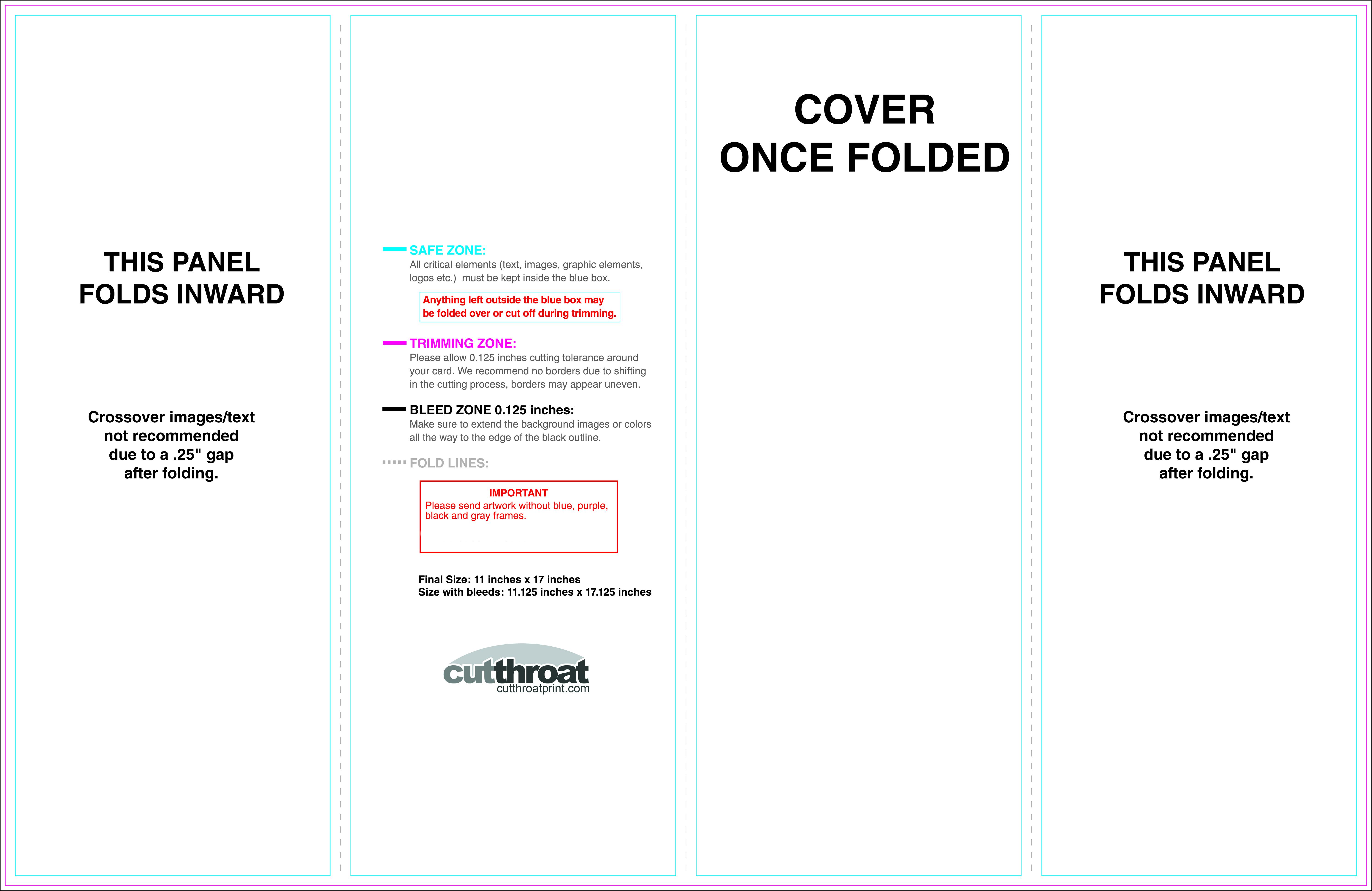014 Template Ideas Gate Fold Brochure 11X17 Doublegatefold Intended For 11X17 Brochure Template