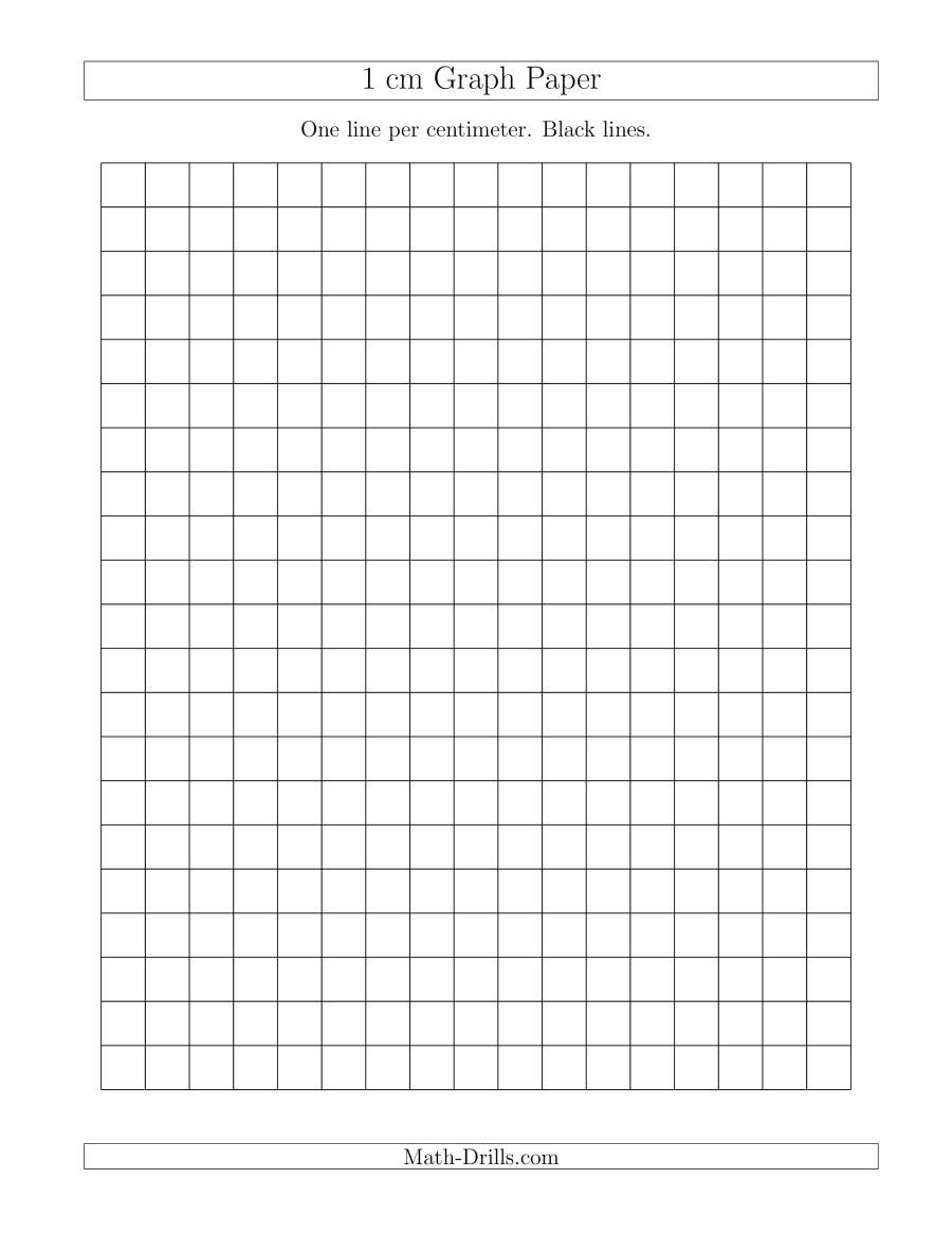 1 Cm Graph Paper With Black Lines (A) Inside 1 Cm Graph Paper Template Word