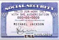 10 Blank Social Security Card Template | Proposal Sample with regard to Social Security Card Template Pdf