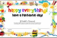 10+ Certificate Template Clipart | Clipartlook inside Kids Gift Certificate Template