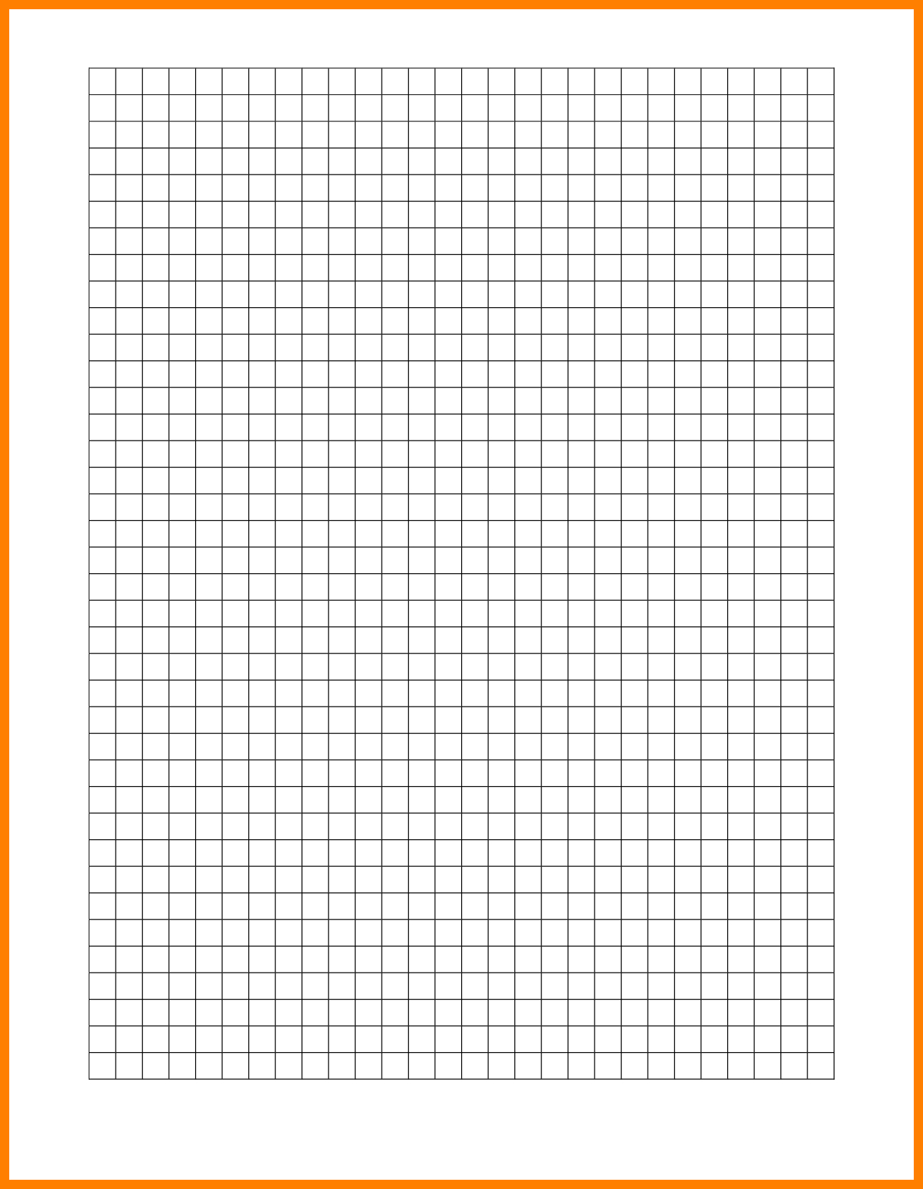 10+ Graph Paper Word Template | Management On Call With 1 Cm Graph Paper Template Word