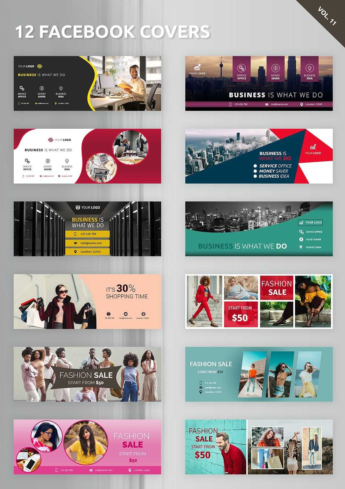 12 Facebook Covers #photoshop#resolution#designed#templates Throughout Photoshop Facebook Banner Template