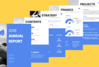 13+ Annual Report Design Examples & Ideas – Daily Design with Nonprofit Annual Report Template