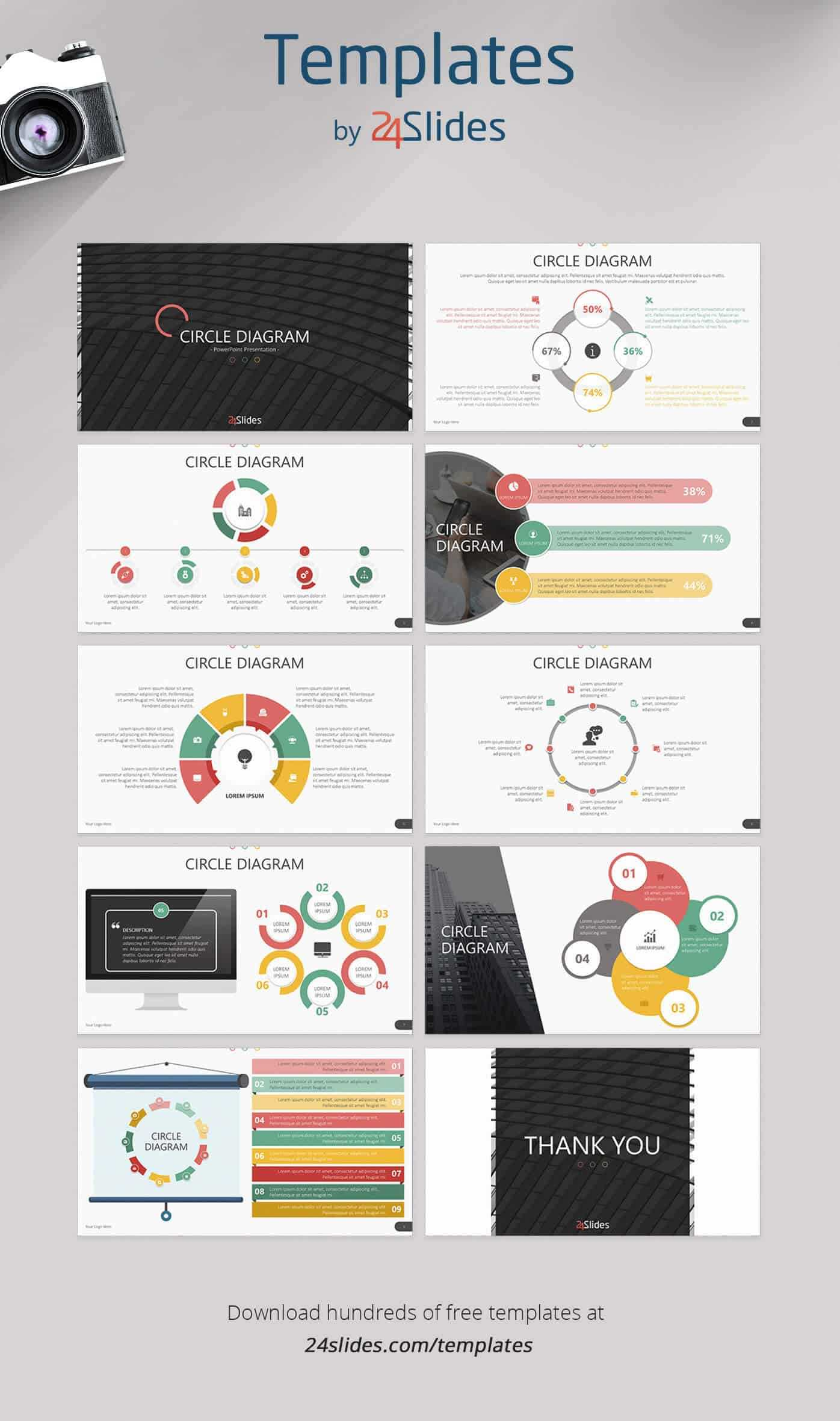 15 Fun And Colorful Free Powerpoint Templates | Present Better Intended For Powerpoint Photo Slideshow Template