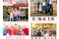 17 Holiday Card Photoshop Templates Free Images – Free throughout Christmas Photo Card Templates Photoshop