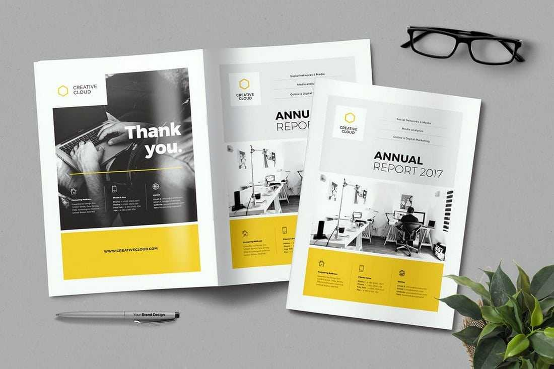 20+ Annual Report Templates (Word & Indesign) 2018 Within Annual Report Template Word