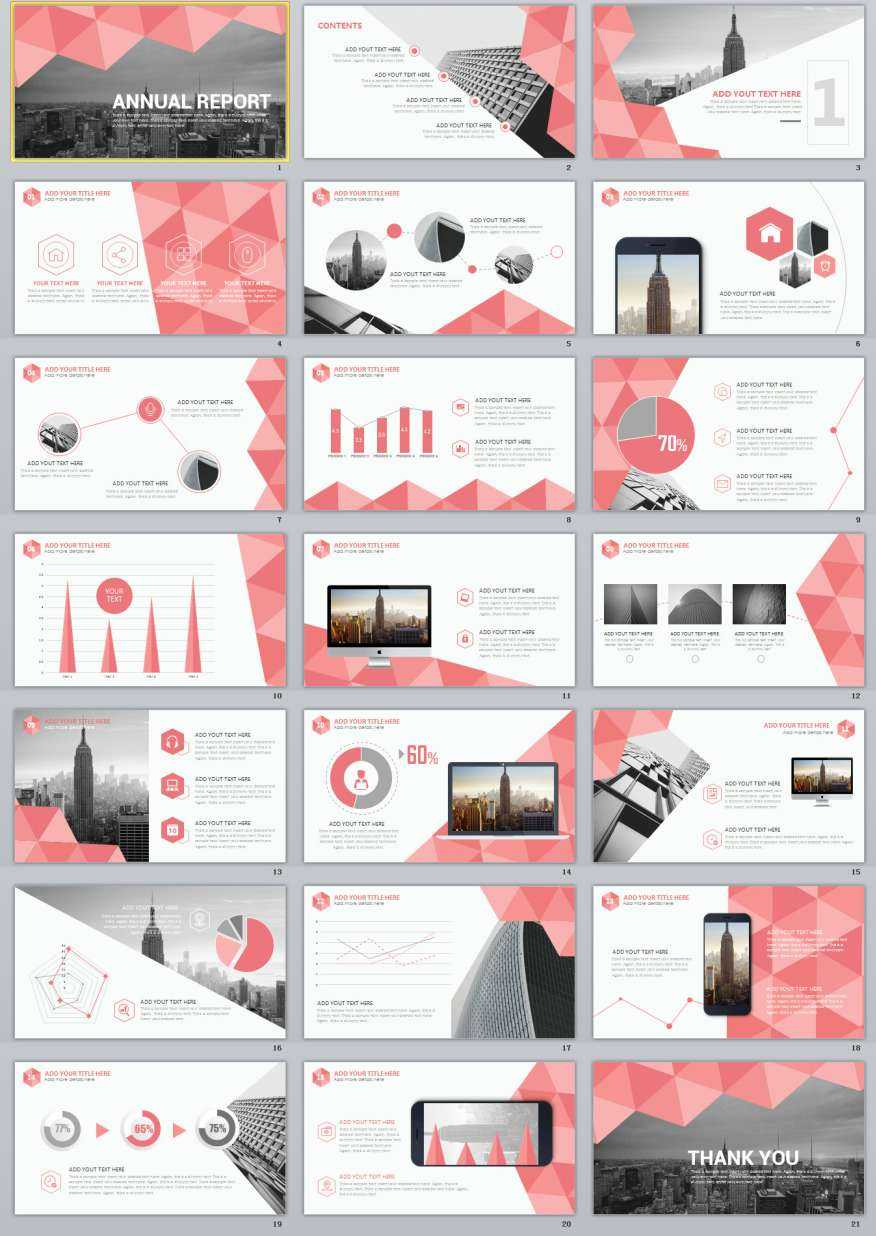 21+ Annual Report Powerpoint Template Inside Annual Report Ppt Template