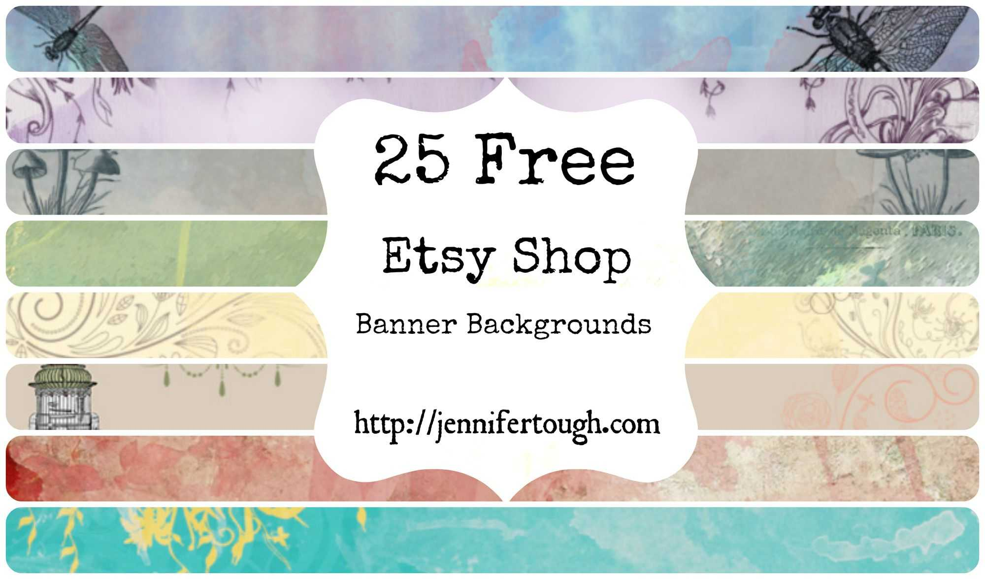 25 Free Etsy Shop Banner | Etsy | Etsy, Etsy Shop, Banner Pertaining To Free Etsy Banner Template