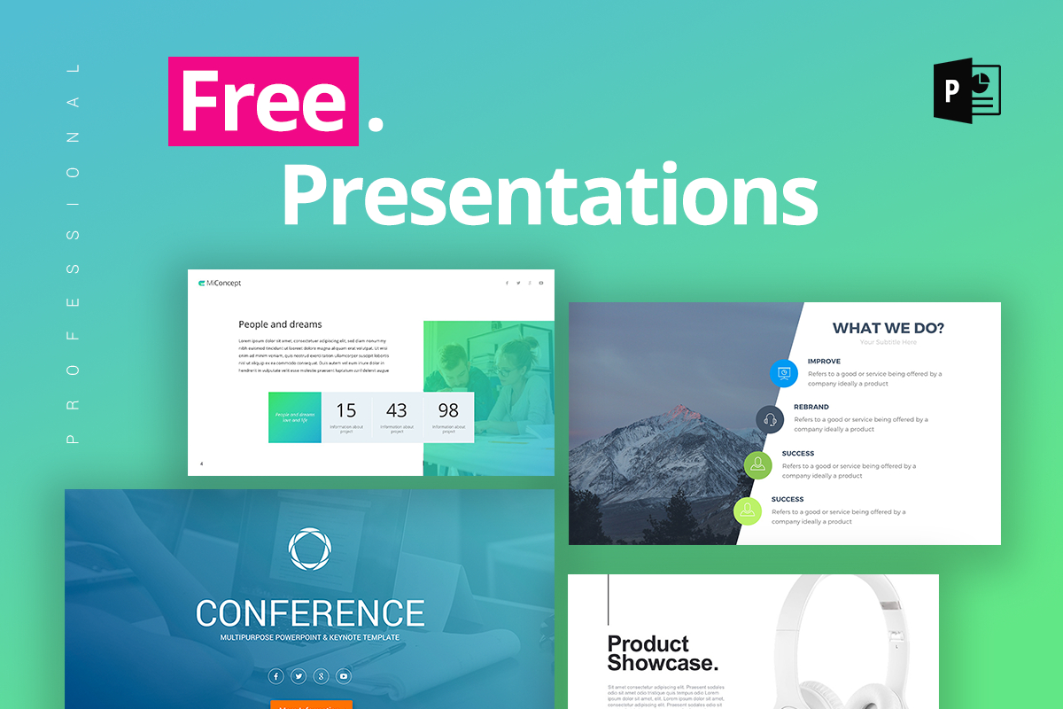 25 Free Professional Ppt Templates For Project Presentations In Sample Templates For Powerpoint Presentation