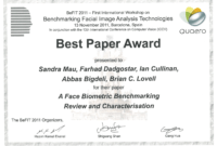 27 Images Of Paper Award Template | Bfegy Intended For regarding International Conference Certificate Templates