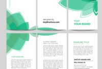 3 Panel Brochure Template Word Format Free Download intended for 3 Fold Brochure Template Free Download