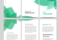 3 Panel Brochure Template Word Format Free Download pertaining to Microsoft Word Pamphlet Template