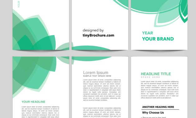 three panel brochure template professional template. Black Bedroom Furniture Sets. Home Design Ideas