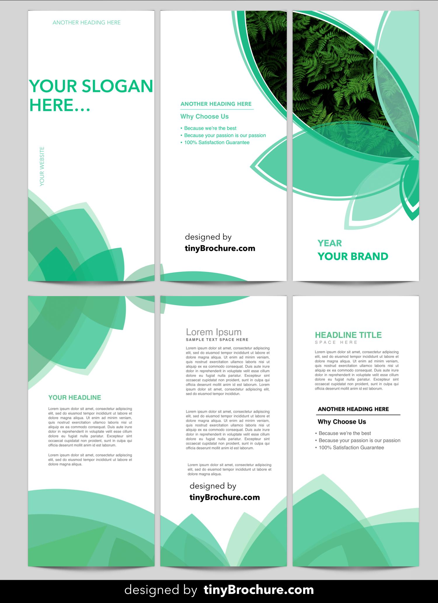 3 Panel Brochure Template Word Format Free Download with Three Panel Brochure Template