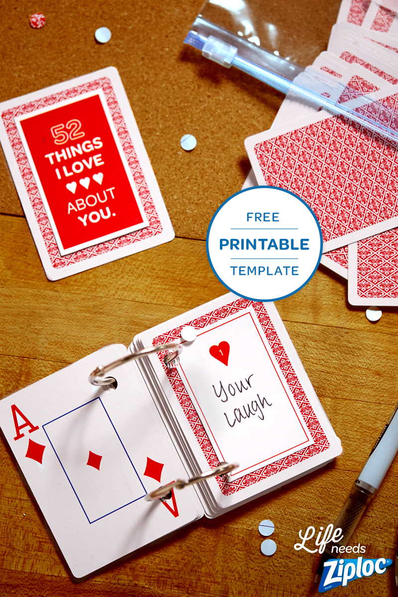 3 Small But Mighty Ways To Say I Love You | Anniversary With 52 Reasons Why I Love You Cards Templates Free