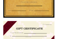 3 Ways To Make Your Own Printable Certificate – Wikihow intended for Automotive Gift Certificate Template