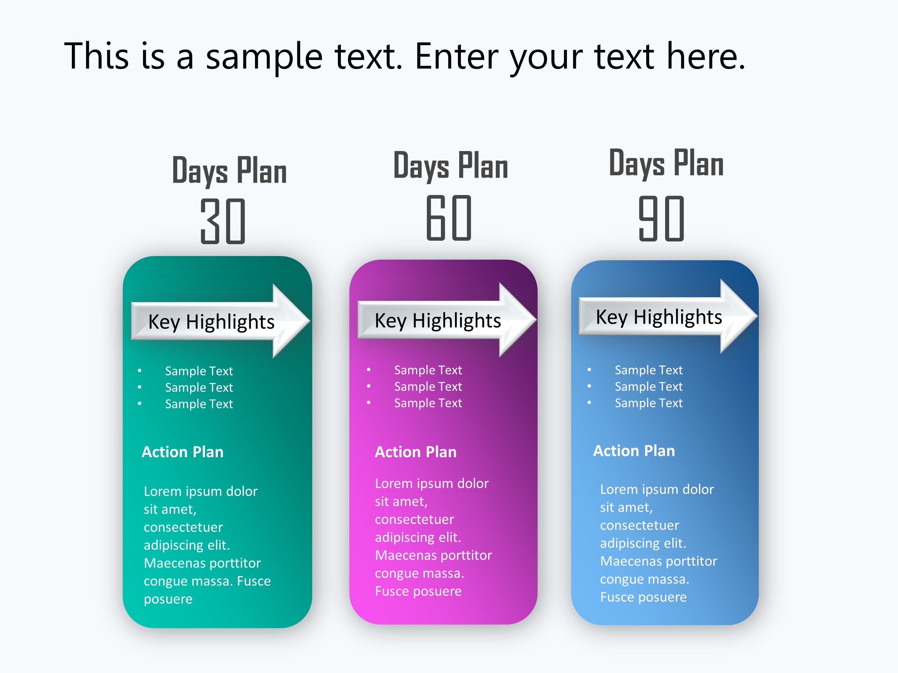 30 60 90 Day Plan Powerpoint Template 1 | 30 60 90 Day Plan Inside 30 60 90 Day Plan Template Powerpoint