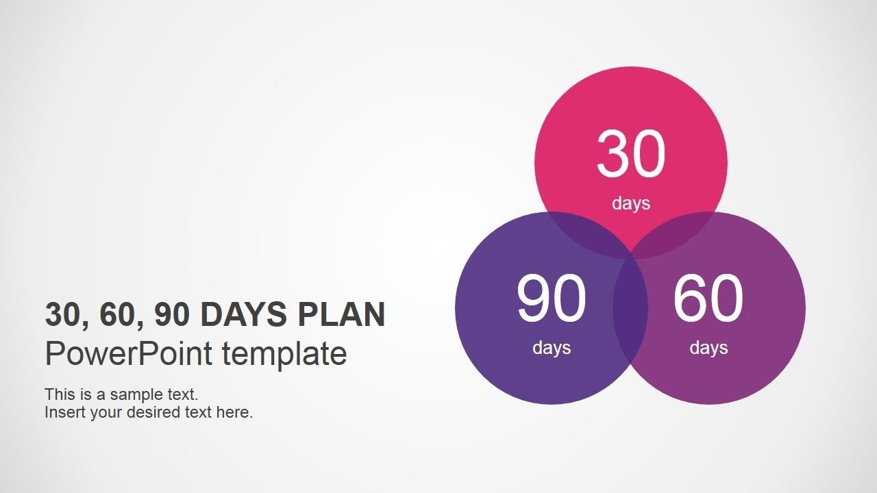 30 60 90 Days Plan Powerpoint Template | 90 Day Plan In 30 60 90 Day Plan Template Powerpoint