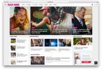 30+ Amazing Magazine WordPress Themes 2019 – Colorlib inside Magazine Ad Template Word