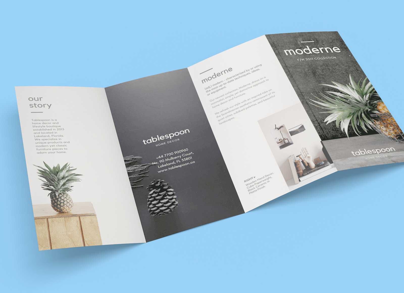 4 Fold Brochure Template – Teplates For Every Day In 4 Fold Brochure Template Word