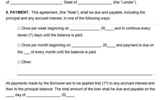 40+ Free Loan Agreement Templates [Word & Pdf] ᐅ Template Lab intended for Blank Loan Agreement Template