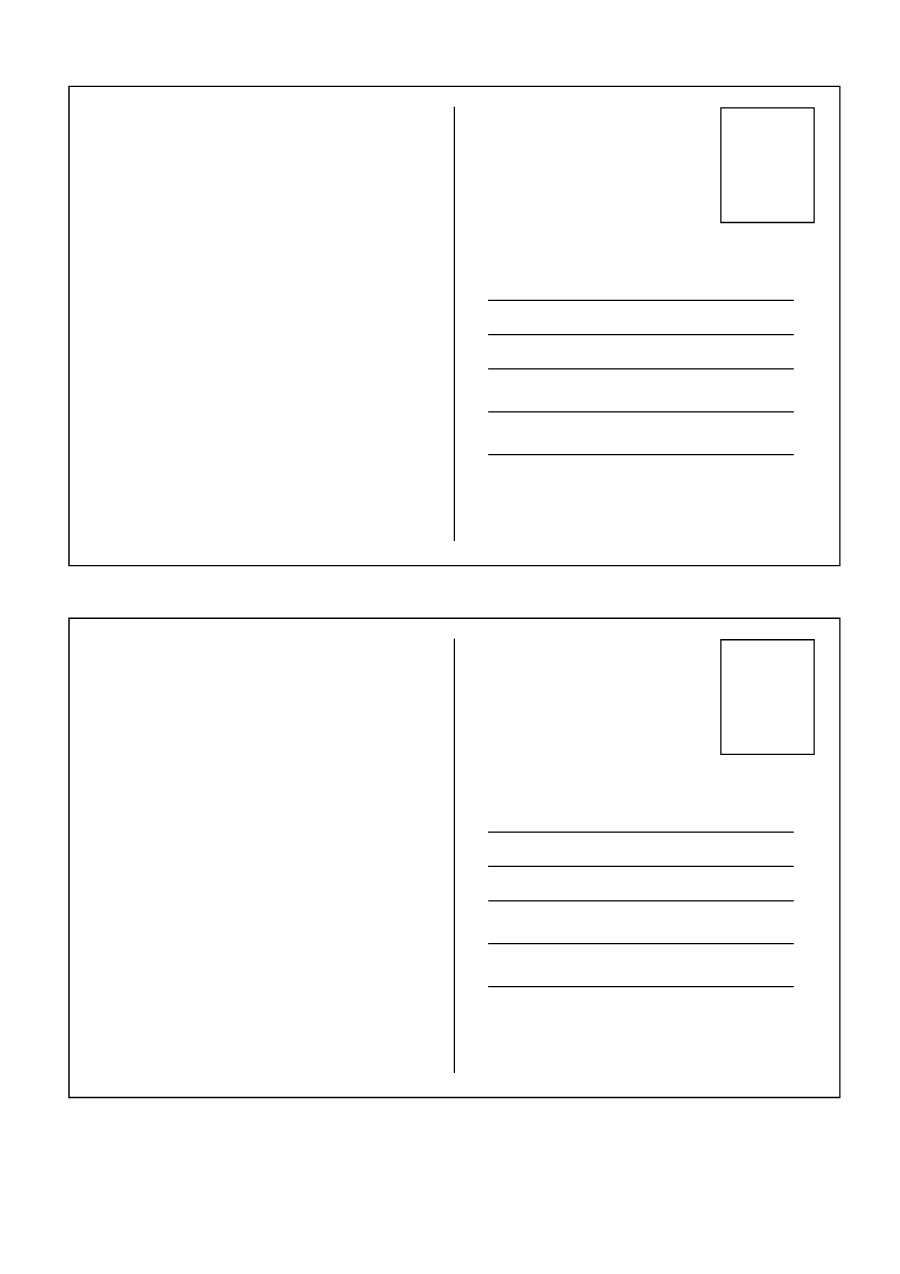 40+ Great Postcard Templates & Designs [Word + Pdf] ᐅ Throughout Free Blank Postcard Template For Word