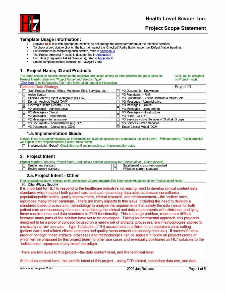 40+ Project Status Report Templates [Word, Excel, Ppt] ᐅ In For Project Implementation Report Template