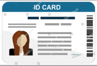 43+ Professional Id Card Designs – Psd, Eps, Ai, Word | Free for Free Id Card Template Word