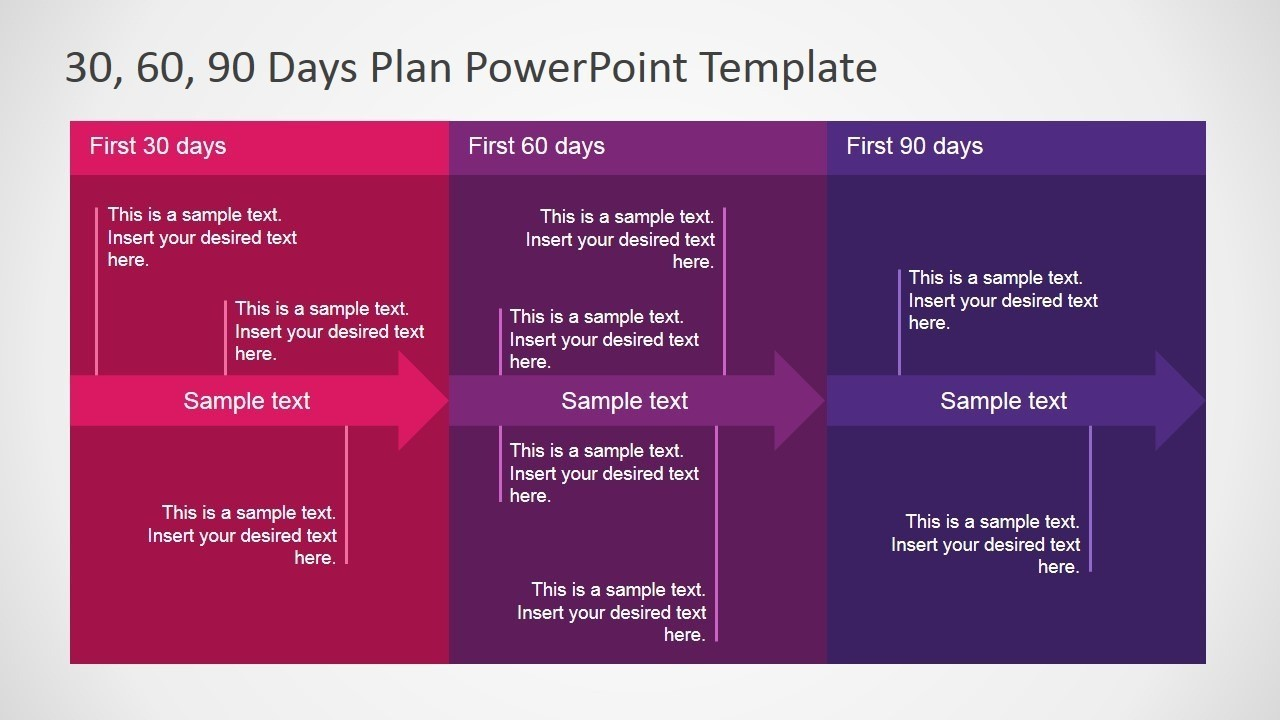 5+ Best 90 Day Plan Templates For Powerpoint Intended For 30 60 90 Day Plan Template Powerpoint