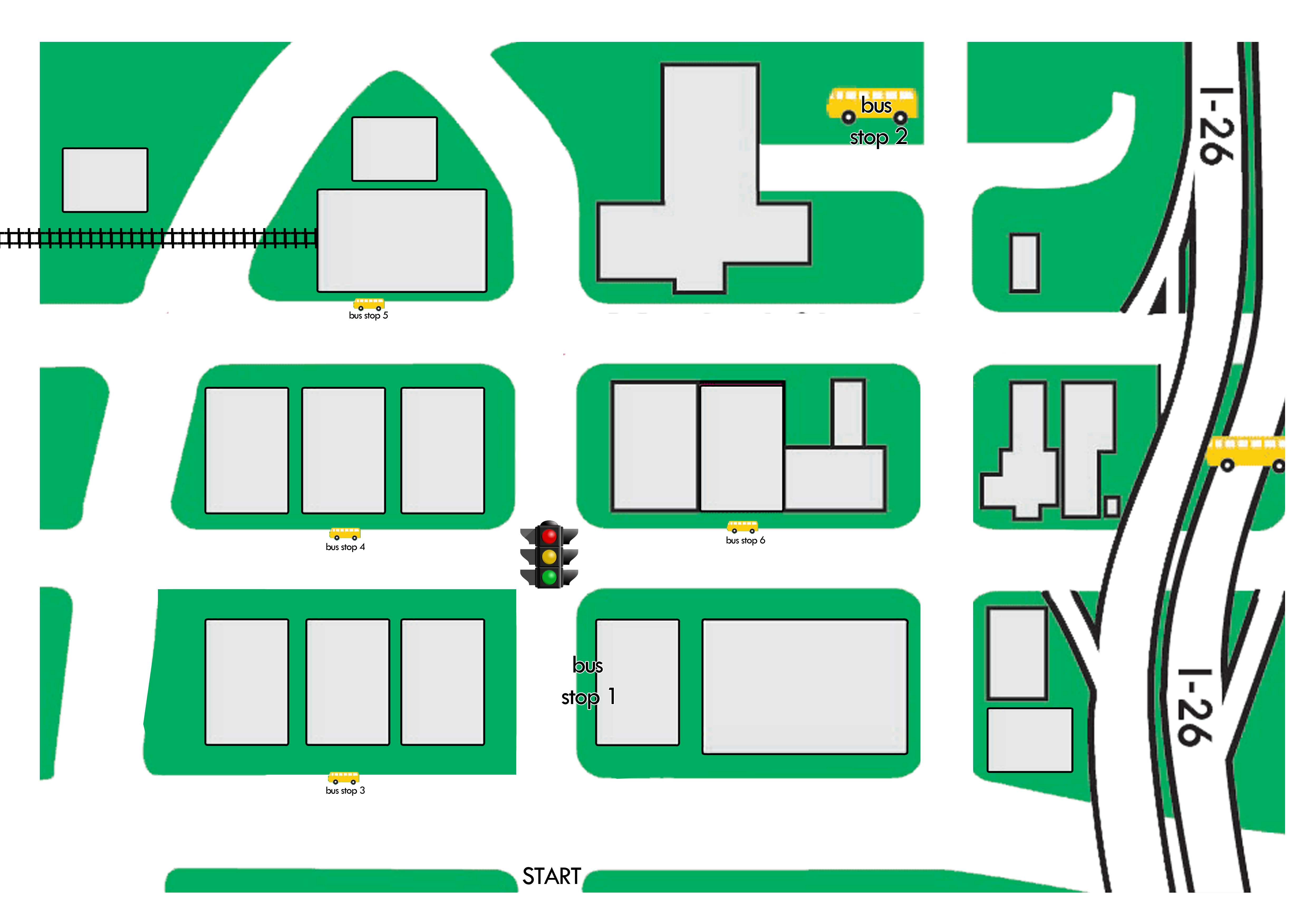 51 Thorough Blank Street Map Template Regarding Blank City Map Template