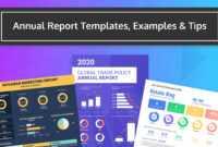 55+ Customizable Annual Report Design Templates, Examples & Tips regarding Nonprofit Annual Report Template