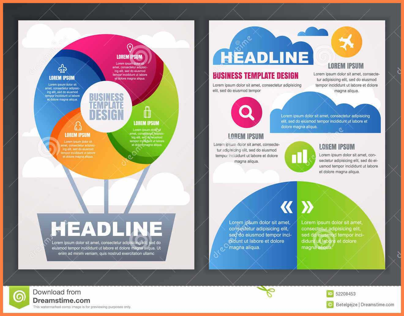 9+ Free Brochures Templates Online | Andrew Gunsberg With Regard To Online Free Brochure Design Templates