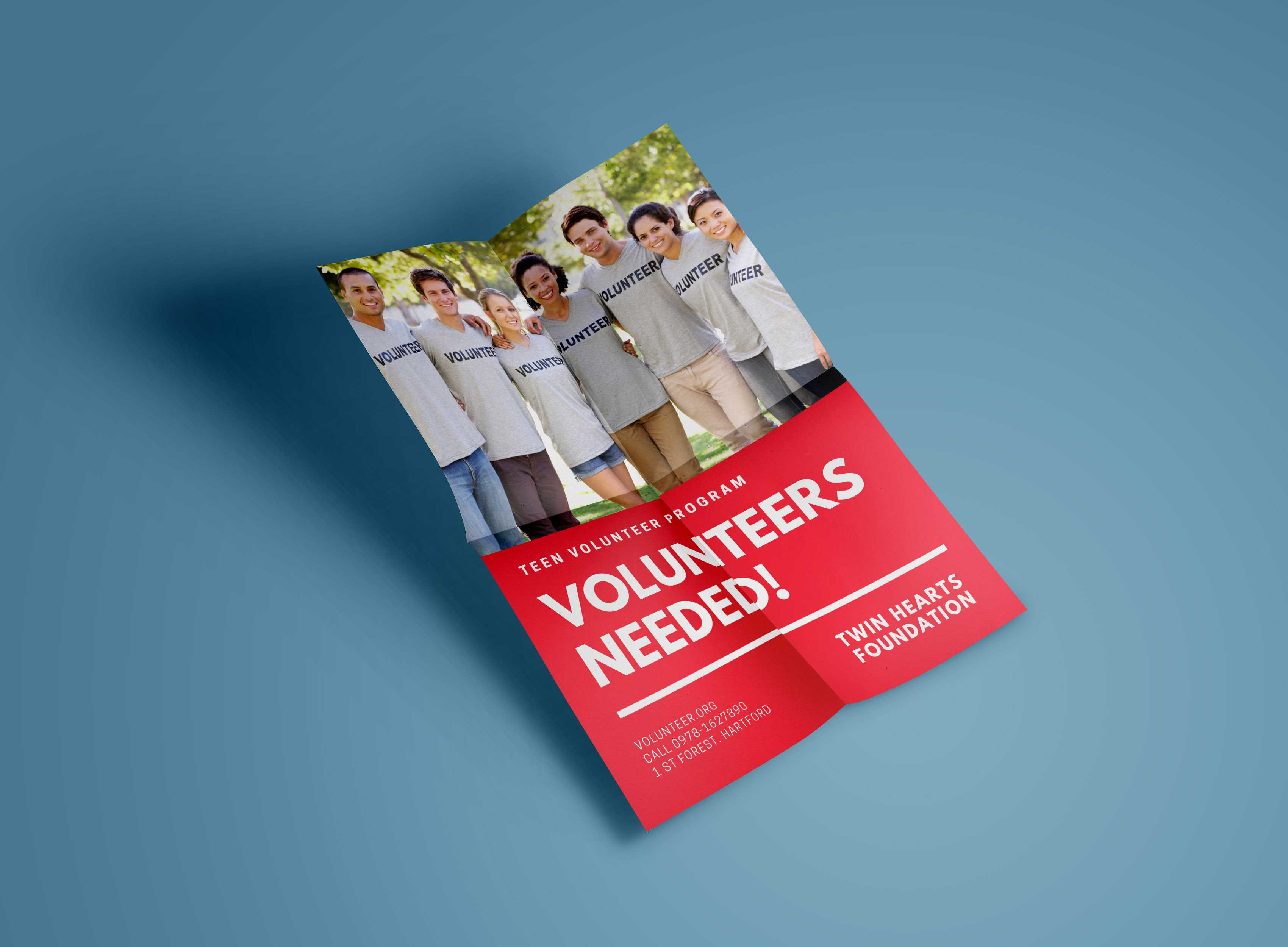 9 Nonprofit Design Templates You Can Use Right Now – Learn within Volunteer Brochure Template