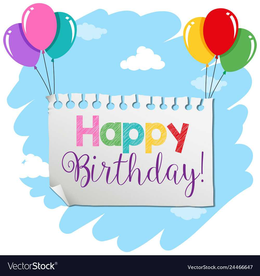 A Birthday Banner Template For Free Happy Birthday Banner Templates Download