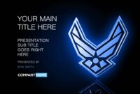 Air Force Powerpoint Template Designs – Trashedgraphics regarding Air Force Powerpoint Template
