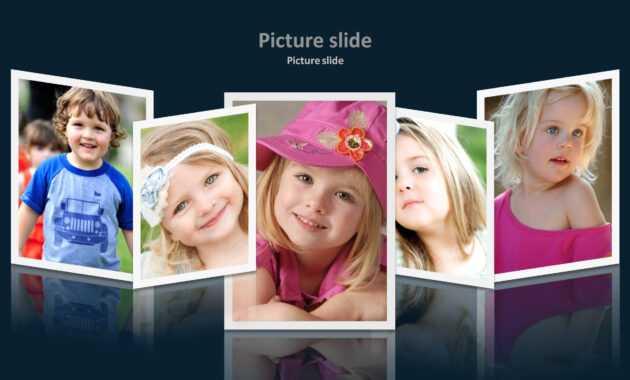 Album 2 Powerpoint Presentation Template throughout Powerpoint Photo Album Template