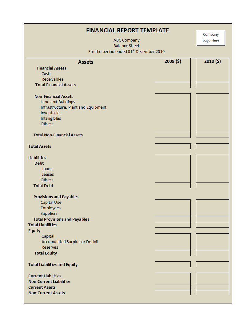 Annual Financial Report Template Word - Atlantaauctionco With Annual Financial Report Template Word