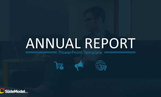 Annual Report Template For Powerpoint inside Annual Report Ppt Template