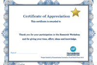 Appreciation Training Certificate Completion Thank You Word with Crossing The Line Certificate Template