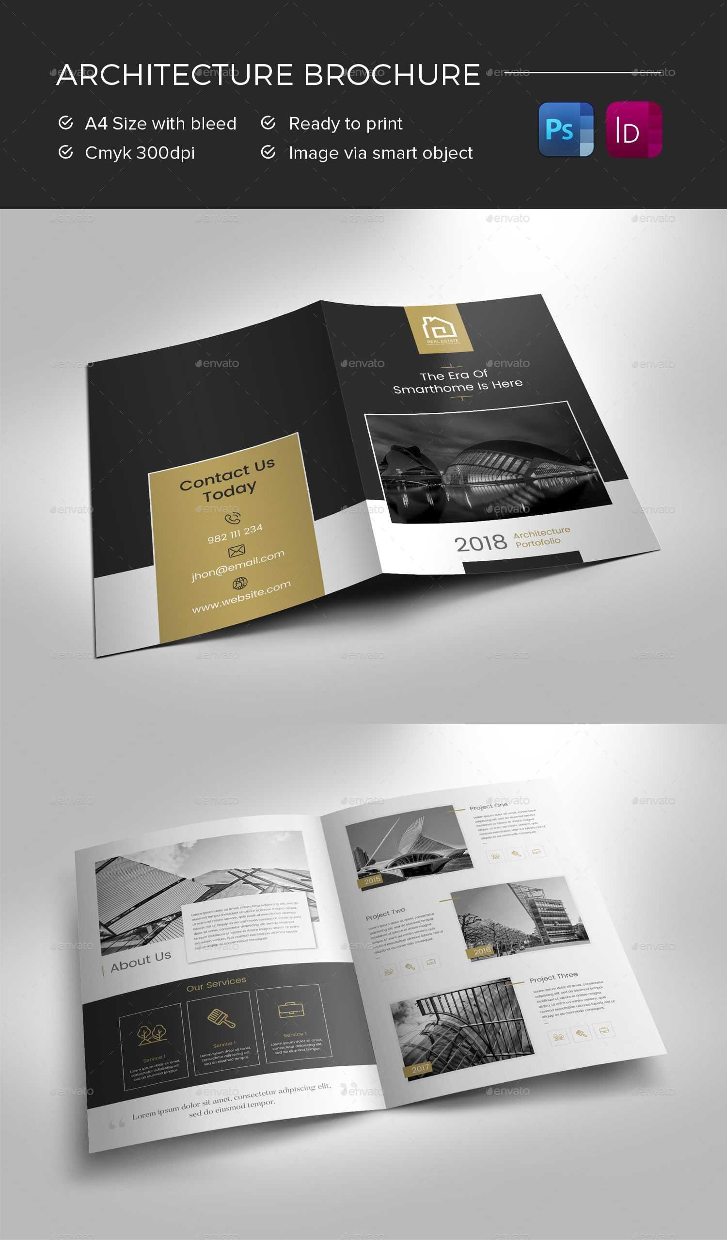Architecture Brochure Preview - Graphicriver | Brochure Inside Architecture Brochure Templates Free Download