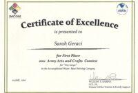 Art Award-Certificate-Templates throughout Academic Award Certificate Template