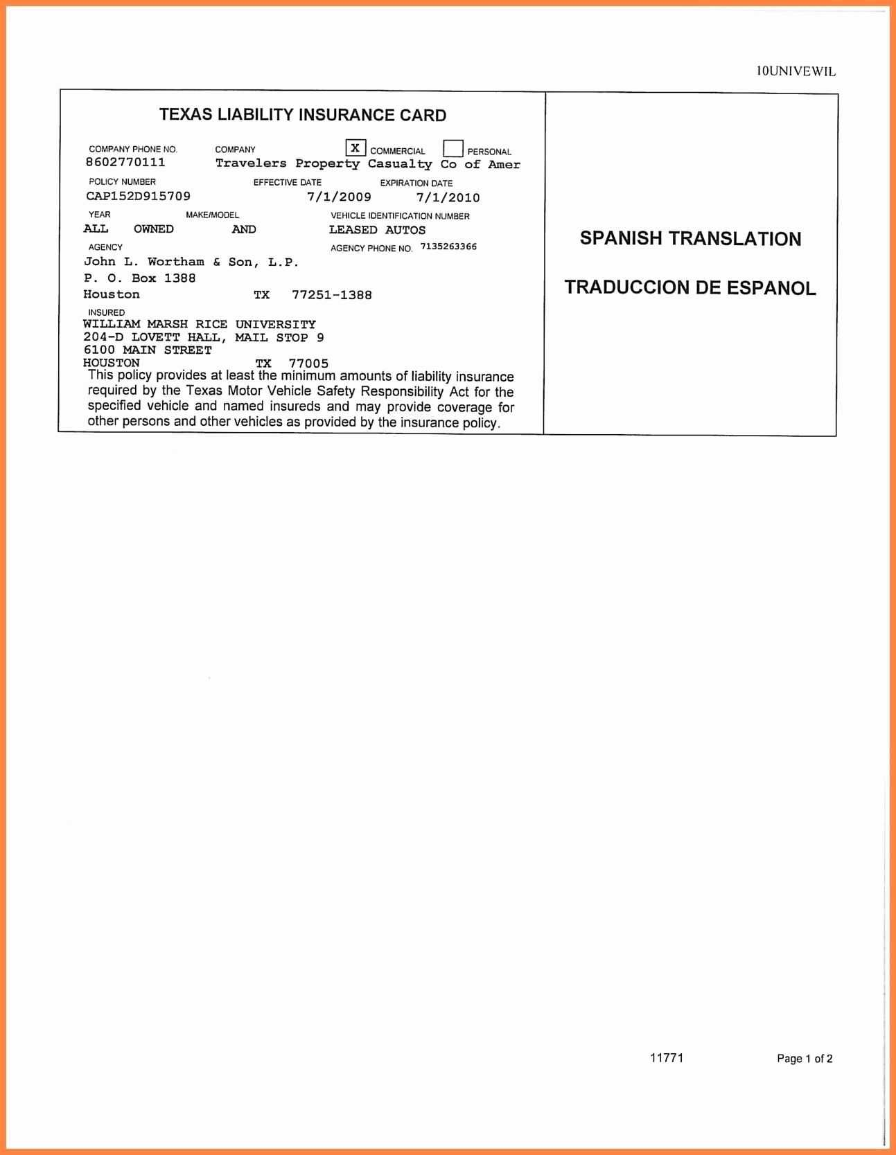 Auto Insurance Card Template Free Download #2 | Projects To Intended For Car Insurance Card Template Download