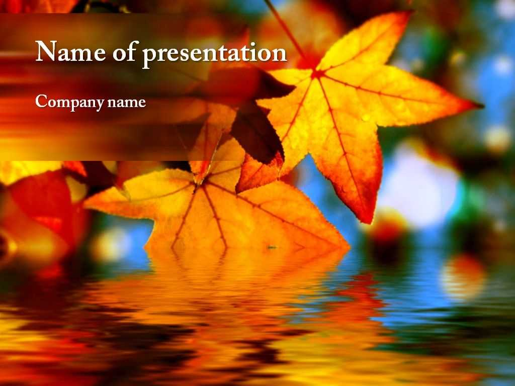 Autumn Powerpoint Template | Autumn Awesome | Powerpoint With Regard To Free Fall Powerpoint Templates