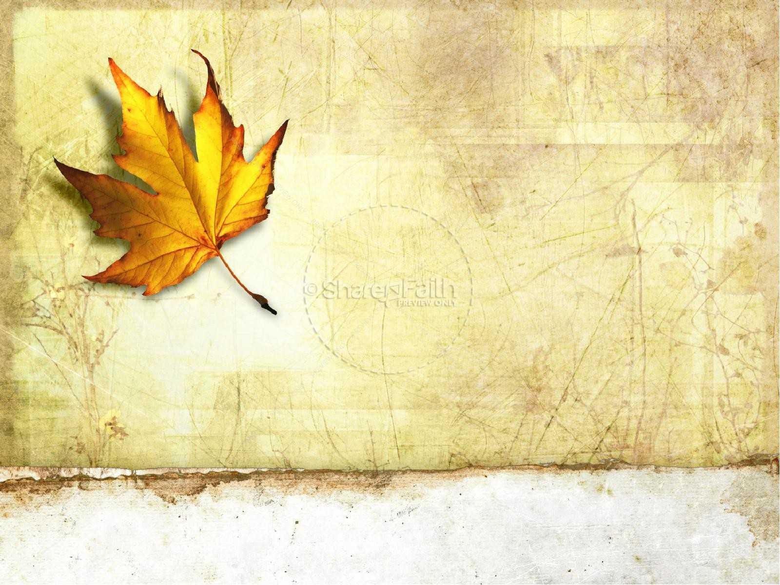Autumn Powerpoint Template   Fall Thanksgiving Powerpoints For Free Fall Powerpoint Templates