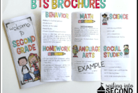 Back To School Night Brochure | Meet The Teacher Template with Brochure Templates For School Project