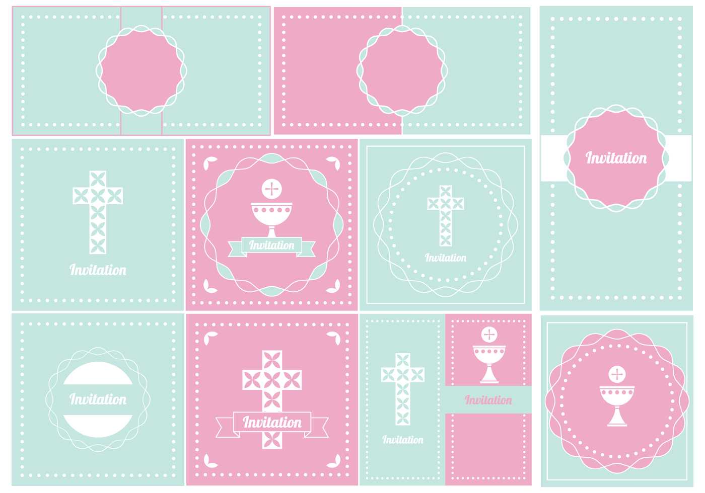Baptism Banner Free Vector Art - (29 Free Downloads) With Regard To Christening Banner Template Free