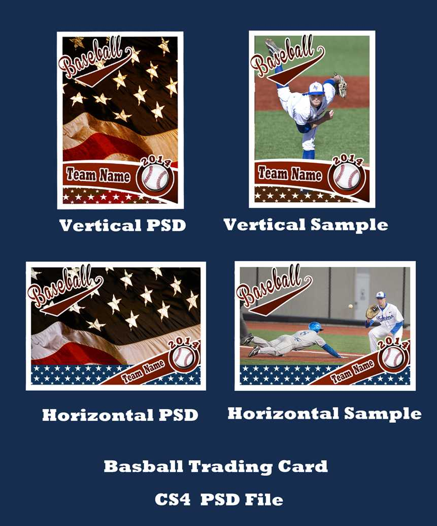 Baseball Card Template Psd Cs4Photoshopbevie55 On Deviantart Regarding Baseball Card Template Psd